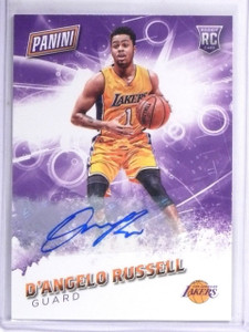 2016 Panini Father's Day D'Angelo Russell Autograph SP/25 #58 *57578