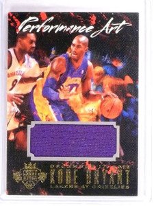 2014-15 Court Kings Kobe Bryant Performance Art Jersey #D168/299 #15 *54274