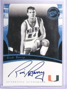 2007 Press Pass Legends Rick Barry Autograph Auto *64268