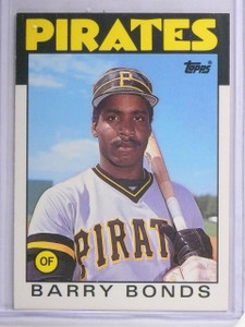 1986 Topps Traded Barry Bonds XRC Rookie RC #11T *62479