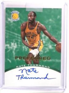 12-13 Panini Preferred Green Nate Thurmond autograph auto #D5/5 *46159