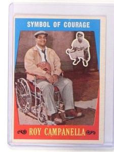 1959 Topps Roy Campanella Symbol of Courage #550 VG-EX *46137