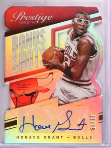 2014-15 Prestige Horace Grant Bonus Shots Die Cut Autograph #D11/49 #29 *55570