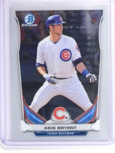 2014 Bowman Chrome Top Prospects Kris Bryant Rookie RC #CTP62 *61618