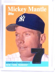 2008 Topps Target Factory Set Mickey Mantle Memorabilia #MMR58 *58210