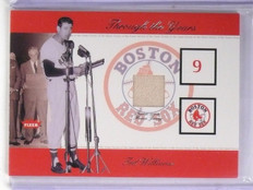 2002 Fleer Greats Through The Years Level 1 Ted Williams Jersey SP/350 #28 *5756