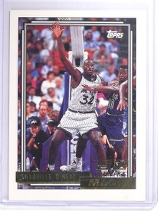 1992-93 Topps Gold Shaquille O'Neal Rookie RC #362 *64386