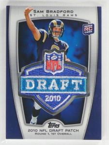 2010 Topps Target NFL Draft Patch Sam Bradford rc rookie #Trgt-1 *35679