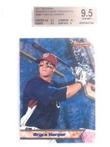 2011 Bowman's Best Prospects Bryce Harper rc rookie #BBp1 BGS 9.5 *67625