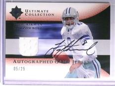 2005 Ultimate Collection Troy Aikman autograph auto jersey #D05/25  *67640