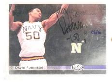 2011 Upper Deck All-Time Greats Illustrious David Robinson autograph #D6/10 *447