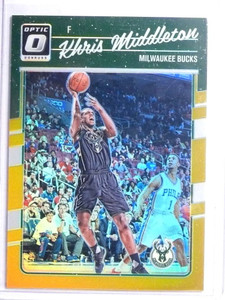 2016-17 Panini Donruss Optic Gold Prizm Khris Middleton #D10/10 #7 *67726