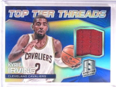 2014-15 Panini Spectra Top Tier Threads Kyrie Irving jersey #D25/35 *67847