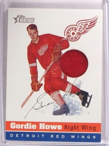 2000-001 Topps Heritage Arena Relics Gordie Howe #OSA-GH *67893