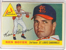 1955 Topps Koen Boyer rc rookie #125 EX *36686