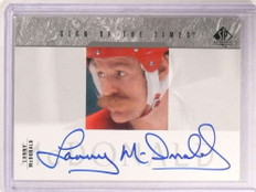 2003-04 Sp Authentic Sign Of The Times Lanny Mcdonald autograph auto *67929