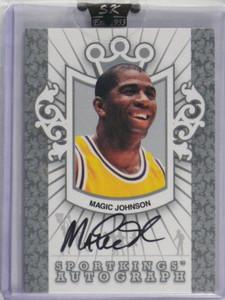 2008 Sportkings Silver Version Magic Johnson auto autograph #A-MJ sp/99 *35224