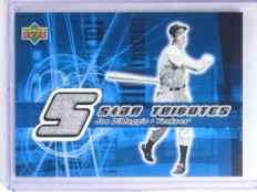 2002 Upper Deck Star Tributes Joe Dimaggio jersey #ST-JD *68111