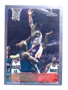 1996-97 Topps Chrome Ray Allen rc rookie #217 *68182