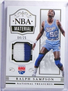 2014-15 National Treasures NBA Material Ralph Sampson 2clr patch #D04/25  *68292