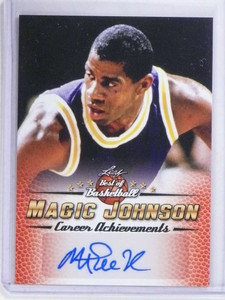 2017 Leaf Best Of Basketball Magic Johnson autograph auto #MJ6 *68384