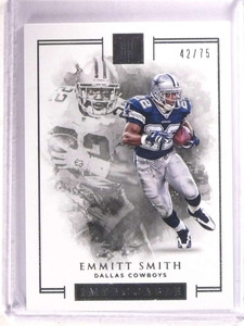 2016 Panini Impeccable Emmitt Smith #D42/75 #34 *68454