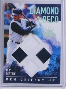 2017 Diamond Kings Deco Ken Griffey Jr. quad jersey #D29/49 #DD-JR *68657