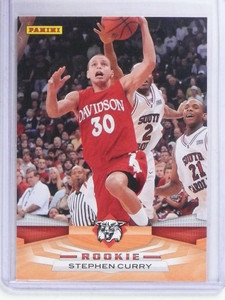 2009-10 Panini Stephen Curry rc rookie #372 *68687