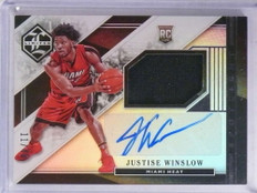 2015-16 Limited Spotlight Justise Winslow autograph jersey rc #D11/49  *68925