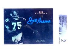 2015 Topps Diamond Blue Ink Joe Greene autograph auto #D5/5 BGS 9 *68820