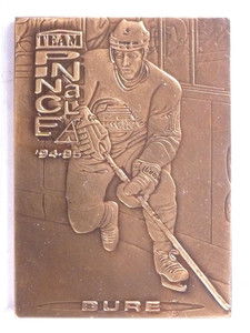 1994-95 Pinnacle Team Bronze Metal Pavel Bure Cam Neely #TP12 *68924