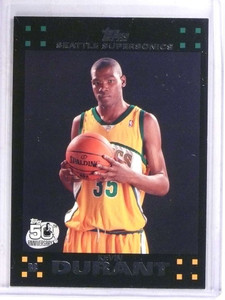 2007-08 Topps Kevin Durant rc rookie #112 *69058