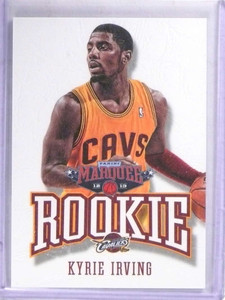 2012-13 Panini Marquee Leather Kyrie Irving rc rookie #401 *69118