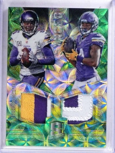 2016 Panini Spectra Synced Teddy Bridgewater & Stefon Diggs patch #D16/25 *69026
