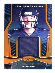 2017 Panini Certified Generation Mitchell Trubisky rookie rc jersey #/399 *69124