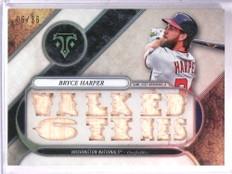 2017 Topps Triple Threads Bryce Harper bat #D06/36 #TTR-BH2 *69308