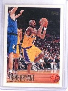 1996-97 Topps Kobe Bryant rc rookie #138 *69133