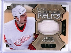 2015-16 Upper Deck Black Diamond Mine Relics Chris Chelios patch #D36/50 *69156
