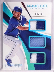 2017 Panini Immaculate Eric Hosmer triple patch jersey #D09/10 #IT-EH *69338