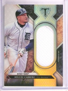 2017 Topps Triple Threads Miguel Cabrera jersey #D02/36 #SJR-MIC *69429
