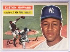 1956 Topps Elston Howard #208 VG *69375