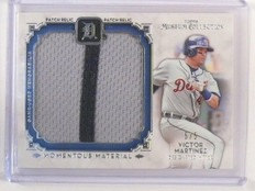 2014 Topps Museum Collection Momentous Victor Matrinez jumbo patch #D5/5 *46139