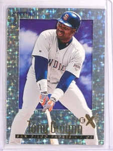 1997 EX E-x2000 Essential Credentials Tony Gwynn #D4/99 #93 *69645