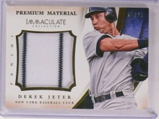 2014 Panini Immaculate Premium Material Derek Jeter jersey #d24/79 *69740 ID: 16658