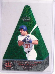 1998 Pacific Invincible Cramer's Choice Green Mike Piazza #D80/99 #6 *69711 ID: 16668