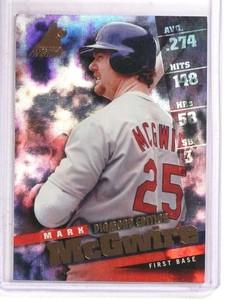 1998 Pinnacle Inside Diamond Edition Mark Mcgwire  #40 *69766 ID: 16675