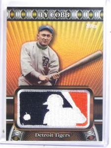 2010 Topps Manufactured MLB Logoman Ty Cobb #D42/50 #LM30 *59692