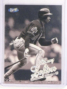 1998 Fleer Ultra Platinum Medallion Kenny Lofton #D71/98 #337P *69815