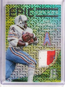 2015 Panini Spectra Epic Earl Campbell 3 color patch #D24/25 #LM-EC *69847