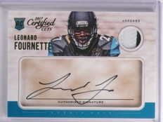 2017 Panini Certified Cuts Leonard Fournette autograph patch rc #D30/49 *70002